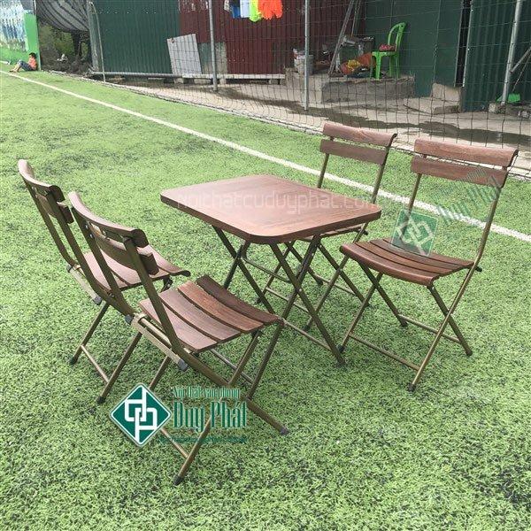 Một số mẫu bàn ghế cafe đẹp - giá rẻ năm 2018