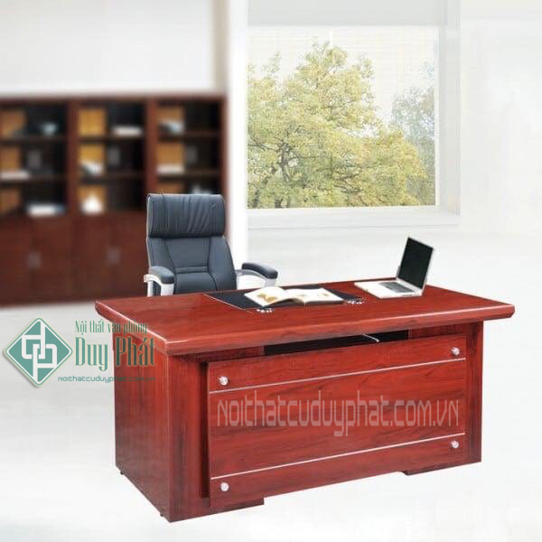 Thanh lý bàn giám đốc mẫu ET 80x1m6 hình chữ nhật1