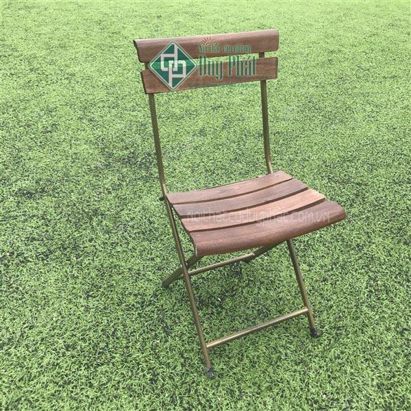 thanh lý ghế gấp mini cafe chân sắt mới 100%