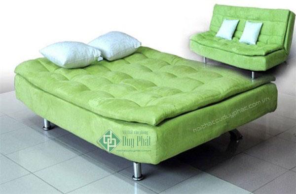 Thanh lý sofa giường màu xanh rêu mới 100%