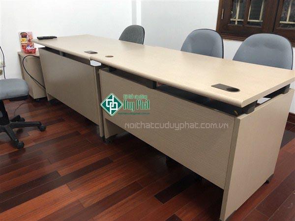 Thanh lý bàn ghế văn phòng Hạ Long giá siêu rẻ