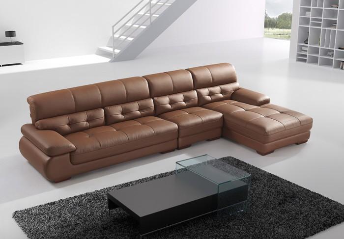 Những mẫu sofa đẹp với chất liệu bằng da thật 100% hót nhất hiện nay