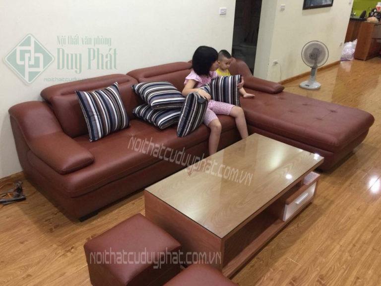 Nên chọn mua sofa da hay sofa nỉ thì tốt nhất