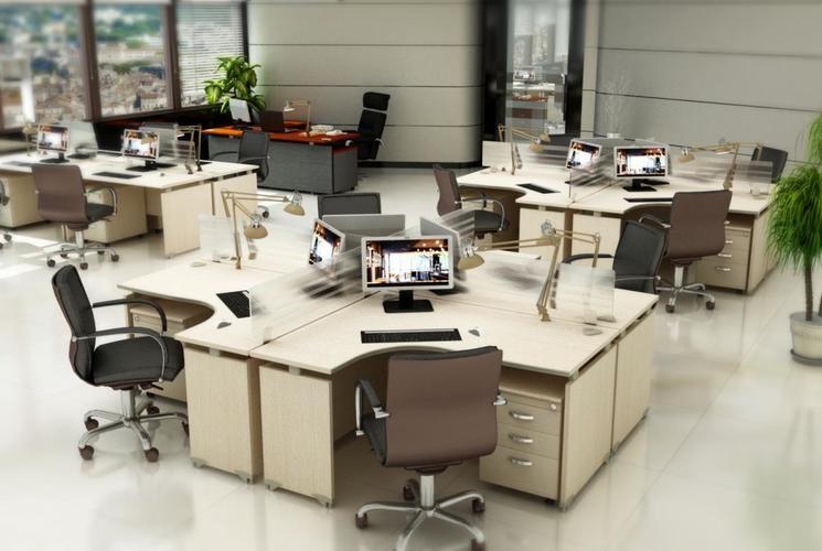 Gợi ý cách sắp xếp bàn ghế văn phòng thông minh - Khoa Học Nhất