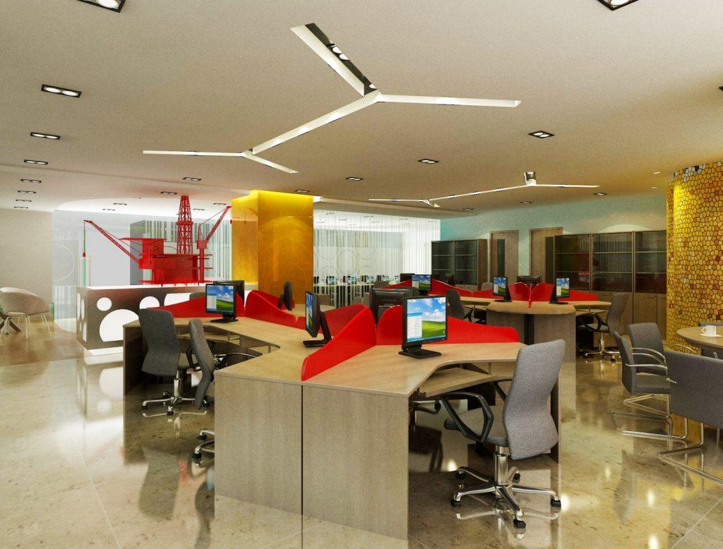 Những mẫu bàn làm việc văn phòng có vách ngăn hiện đại nhất 2019