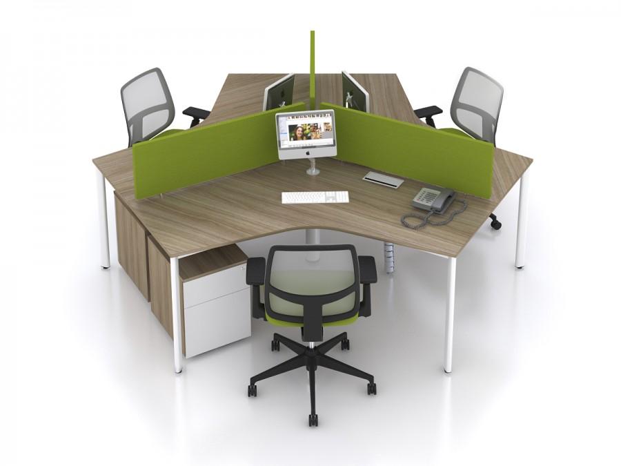 Những mẫu vách ngăn văn phòng phổ biến