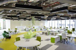 Những mẫu thiết kế nội thất văn phòng giá rẻ được ưa chuông năm 2020
