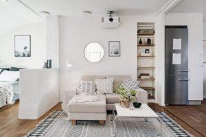 Mẹo sử dụng kệ trang trí âm tường phòng khách dễ dàng thực hiện