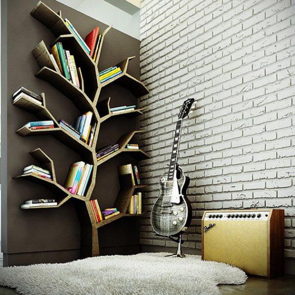 Kệ sách hình cành cây
