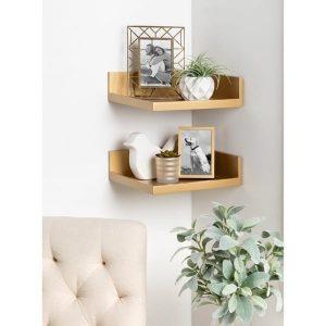 Mẹo lựa chọn kệ trang trí decor trang trí phòng khách nhỏ hợp xu hướng