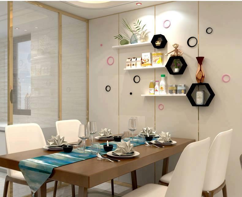Tổng hợp 5+ mẫu kệ trang trí phòng ăn được yêu thích năm 2021