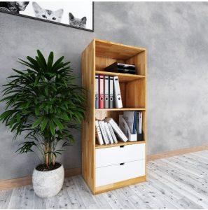 Kệ sách mini cho không gian văn phòng nhỏ